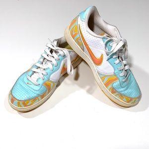 Nike Air Zoom Infiltrator in White, Blue & Orange